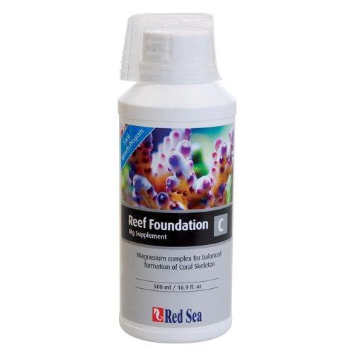 Red Sea Fish Pharm ARE22013 Reef Foundation Calcium/Strontium Supplement-A for Aquarium, 500ml
