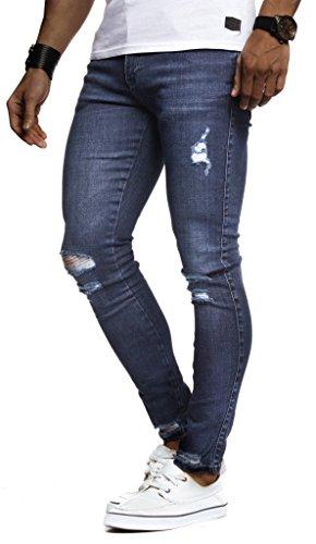 Leif Jeans Blu Nelson Uomo Uomo Leif Leif Nelson Blu Jeans Jeans Nelson qxq7XUAr
