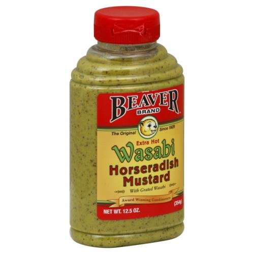Beverton Horseradish Mustard, 12.5000-ounces (Pack of6)