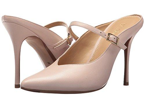 MICHAEL Michael Kors Tiegan Mule High Heels Soft Pink (Leather, 8) (Kors Jane Michael)