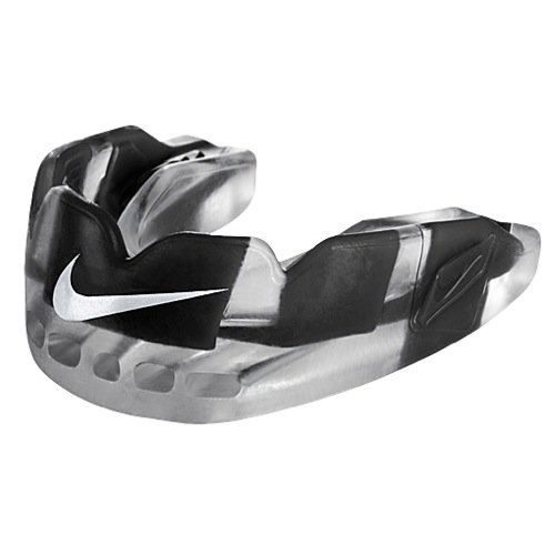 Nike Pro Hyperflow Mouth Guard (black/white) by NIKE