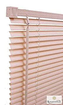 PVC Venetian Blinds Window Door Blind Easy Fit Trim-able Fitting 150cm Drop New