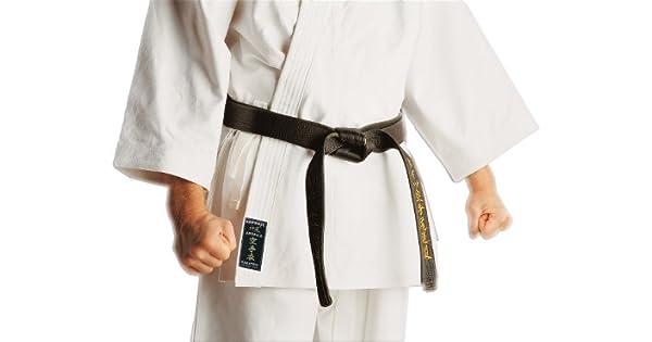 Amazon.com: Kamikaze – Karate Gi uniforme color blanco 100 ...