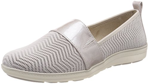 Jana 24609 Women's Offwhite Loafers White 5frfSwWqnX