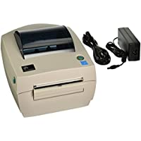Zebra GC420-200511-000 GC420D Direct Thermal Printer 203 DPI, Monochrome, 6.7 H x 7.9 W x 8.2 D, With Peeler, With USB, Serial, and Parallel Connections