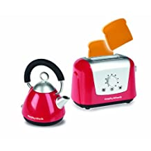 Casdon Little Cook Morphy Richard's Kettle and Toaster Set, Red
