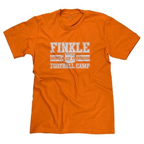 FreshRags Finkle Football Camp Ace Ventura Parody Funny Men's T-shirt XL Orange 395