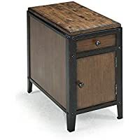 Magnussen T1755 Pinebrook Chairside Door End Table