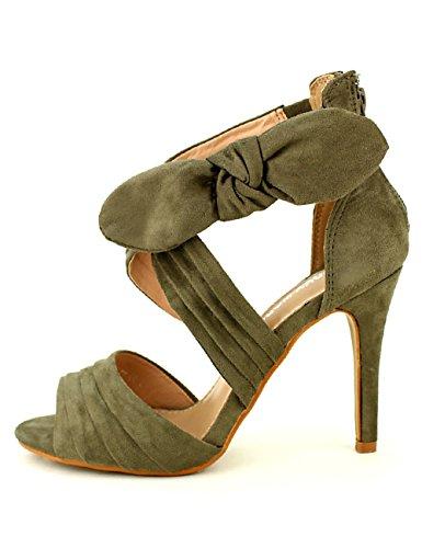 Moda Sandale Femme Chaussures Cendriyon Laura Kaki aBqOwOd4t