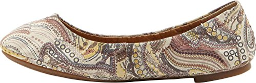 Women's Brown Flat Multi Ballet Emmie Lucky 8xdwqY44
