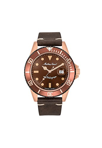 Mathey-Tissot Rolly Vintage Bronze Automatic Brown Dial Mens Watch H901BZM