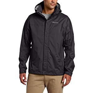 Marmot Men's Precip Jacket, Black, Small