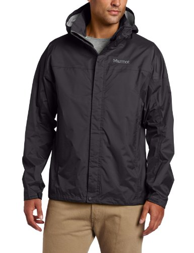 Marmot Men's Precip Jacket, Black, Large