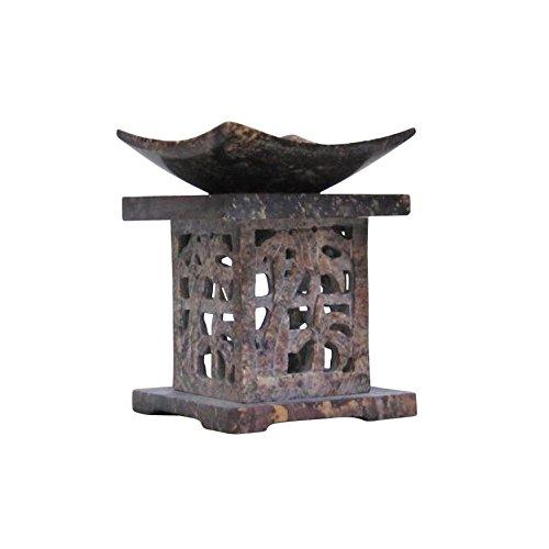 Soapstone Aroma Lamp, Japanese II - Nautical Decor by Nautical Decor