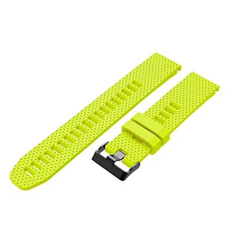 - Kybers Compatible for Garmin Fenix 5S/Fenix 5S Plus - Soft Premium Silicone Dots Pattern Replacement Sport Watch Band Wrist Strap for Garmin Fenix 5S/Fenix 5S Plus