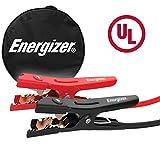 Energizer 6-Gauge 500A Jumper Battery Cables 16 Ft Booster Jump Start ENB-616U