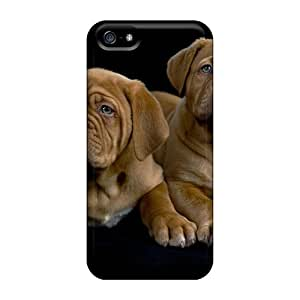 Royalcases PKM3419Skzz Case Cover Iphone 5/5s Protective Case Two Amazing Dogs