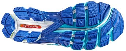 Asics Vrouwen Gel-kinsei 5 Sportschoen Geel / Wit / Turquoise
