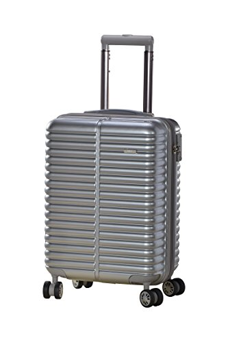 Master Massage Novana 20″ Expandable Abs Carry-on Luggage, Silver