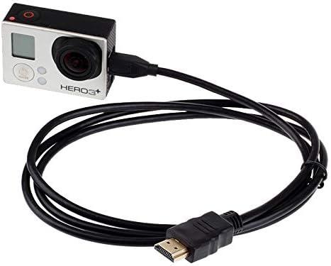 Acción de la cámara Accesorios de Montaje 1080P vídeo HDMI a Cable Micro HDMI for Xiaomi Xiaoyi, Longitud: 1,5 m,