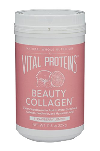 - Vital Proteins Beauty Collagen (Strawberry Lemon, Canister)
