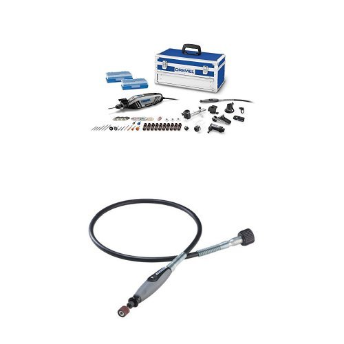 Dremel High Performance Rotary Tool Kit with Flex Shaft Attachment