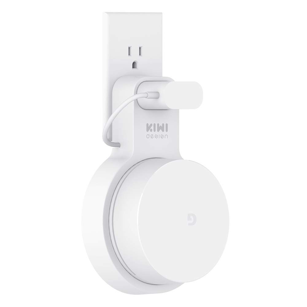 KIWI design - Supporto da Parete Outlet Wall Mount Compatibile con Google WiFi Routers System (Google WiFi Non è Incluso)