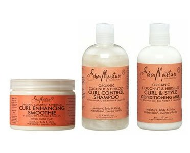 Coconut & Hibiscus Curl Enhancing Trio by Shea Moisture
