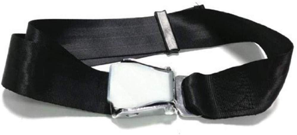 Extensor de cintur/ón de seguridad de avi/ón para mujer embarazada o hombre gordo piezas de cintur/ón de seguridad de avi/ón ajustable universal con clip de hebilla de acero 45 50-84 cm