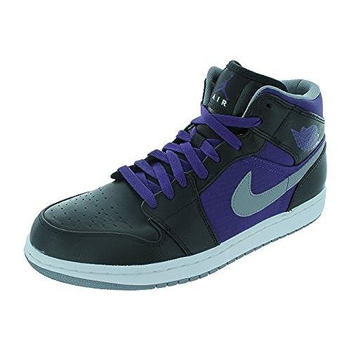 0d23d1fb23ed ... durable service Nike Air Jordan 1 Phat Mid Mens Basketball Shoes  364770-018 ...