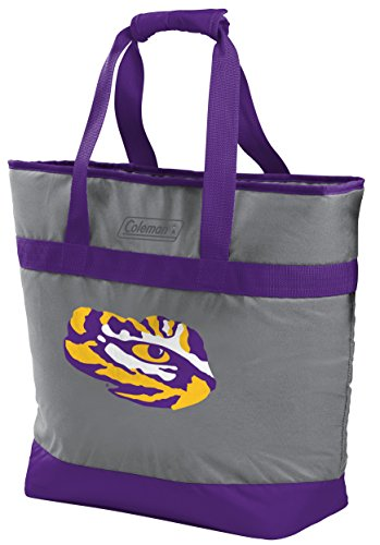 Rawlings NCAA LSU Tigers Unisex 07883035111NCAA 30 Can Tote Cooler (All Team Options), Yellow, X-Large