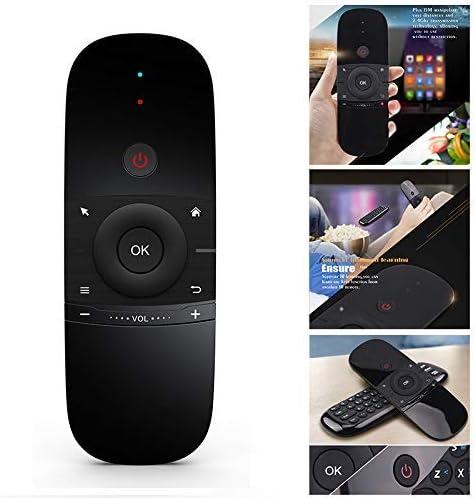 LuMon TV Mando a Distancia, Smart TV Teclado inalámbrico Fly Mouse Multifuncional Mando a Distancia para Android TV Box PC Proyector: Amazon.es: Hogar