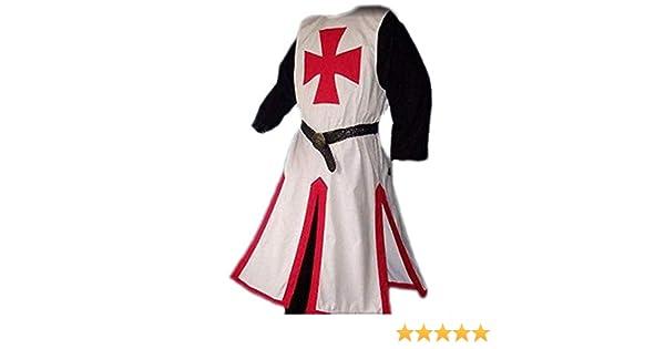 RHSML Disfraz De Halloween Templarios Medievales Disfraces De ...