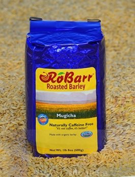 RoBarr Mugicha, Organic Barley, Boricha, Natural Beverage Drink, Coffee and Tea Substitute, 1lb 8oz, Caffeine Free, Compare to Postum or Pero
