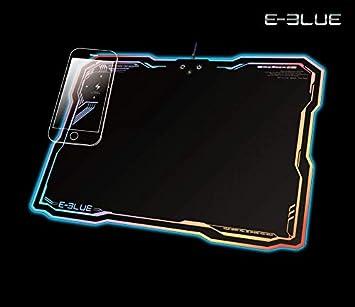 E-blue - Alfombra para ratón Gamer con Cargador inalámbrico ...