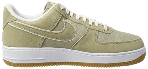 NIKE '07 White Grün 1 Unisex Sneakers Gum Force Air Erwachsene Khaki Khaki Brown Light SAXqSrFxw