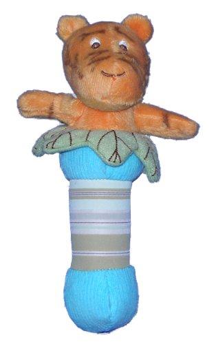 Classic Pooh Plush Stick Baby Rattle - Tigger (Baby Tigger)