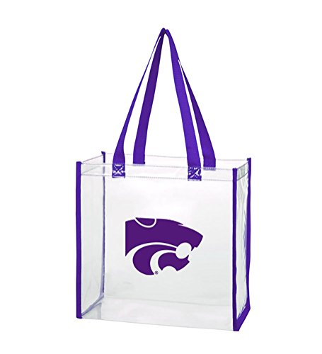 Wildcats Lunch Tote - Kansas State Wildcats - NCAA Clear Stadium Totes