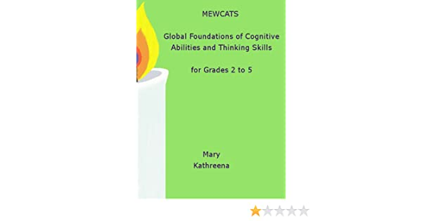 Amazon.com: MEWCATS Global Foundations of Cognitive Abilities and ...