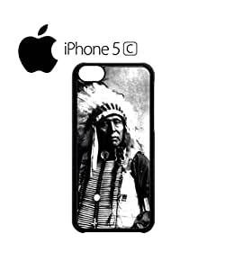 Indians Chief Native Americans Mobile Cell Phone Case Cover iPhone 5c Black