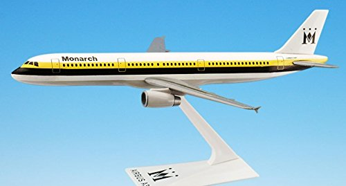 Flight Miniatures Monarch Airlines Airbus A321-200 1:200 Scale Display Model with Stand