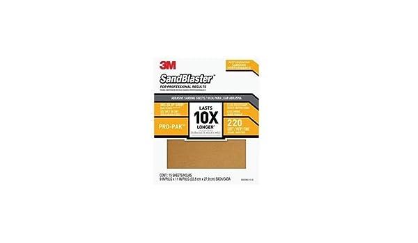 3-M COMPANY 30220ES-15-G Sandpaper-Sheets