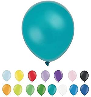 """Turquoise Balloons 11/"""" Pearlised Latex 10pck"""