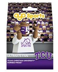 NCAA TCU Horned Frogs OYO Ultimate Fan Minifigure, Small, Black (Ultimate College Sports Fan)