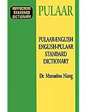 Pulaar-English/English-Pulaar Standard Dictionary
