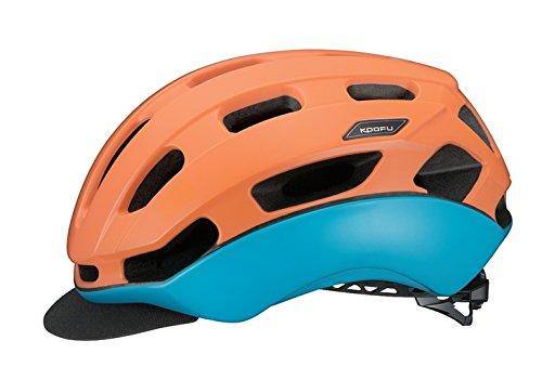 KOOFU(コーフー) BC-GLOSBE L/XLサイズ マットソーレオレンジ ヘルメット BCグロッスベ   B07F8MJFHP