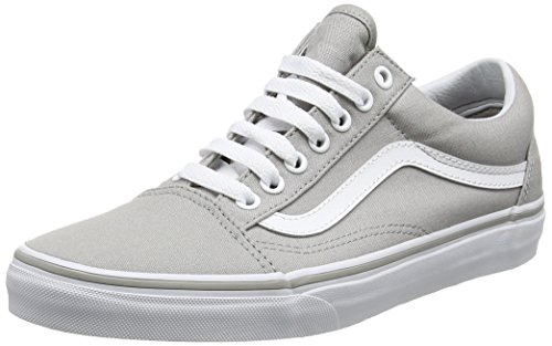 Vans Womens Old Skool Drizzle/True White Sneaker - 5 (White Drizzle)