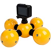 Multifunction Underwater Buoyancy Ball Action Camera Floaty Gadget Mini Underwater Accessories Floating Ball for GoPro Hero5 Hero4 3 3+ 2 1, SJCAM SJ4000 SJ5000 Xiaomi Yi (Pack of 5)