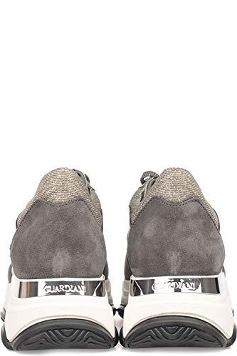 Alberto Mujer Cuero Guardiani Zapatillas Gris Sd61465csx85 5rw5xqF