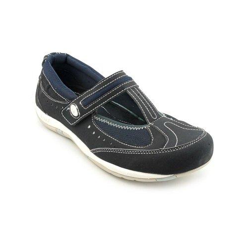 Ryka Women's Sport Comfort T-Strap Workout Mary Jane Shoe Navy (8.5, Blue)